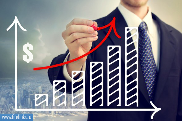 Увеличение прибыли от акций