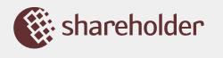 Логотип долевой биржи Shareholder