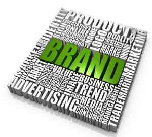 Иконка бренда в векторе