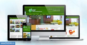 Пример отображения мобильной версии сайта