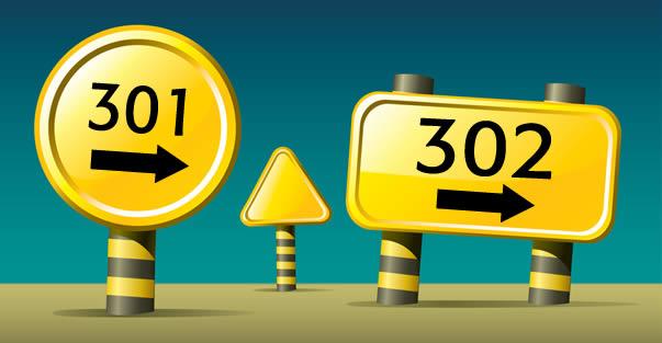 302 редирект и его отличия от 301