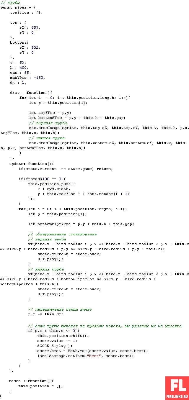 Как создать игру на компьютере самому с нуля: делаем мини игру про птичек + исходники кода с игрой
