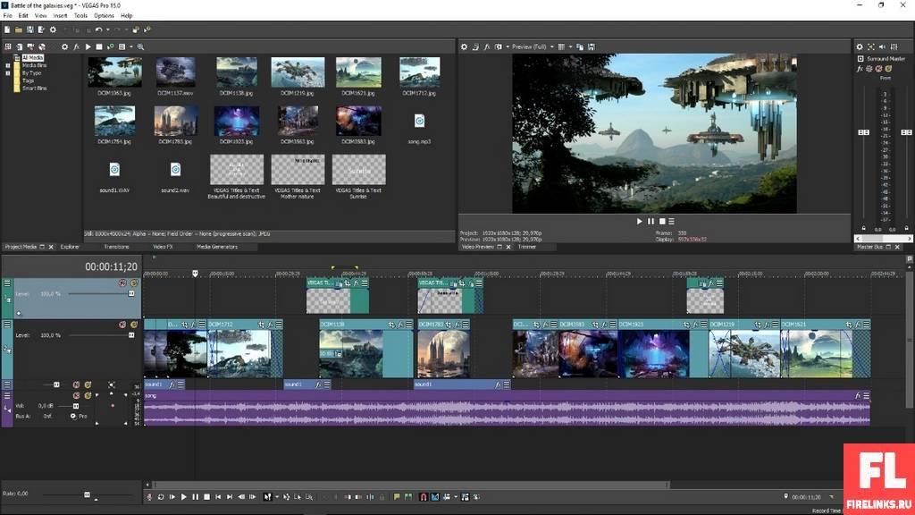 Sony Vegas Pro: лучшие видеоредакторы для монтажа и обработки видео
