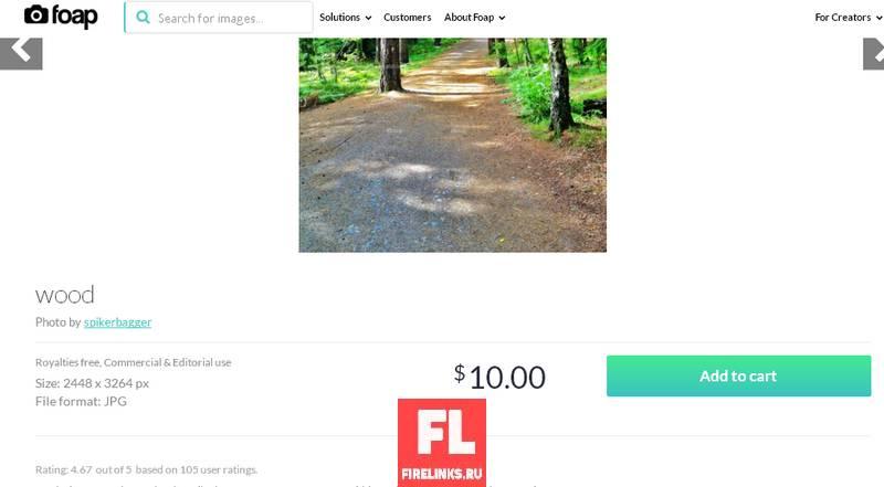 Продажа фотографий в фотобанке