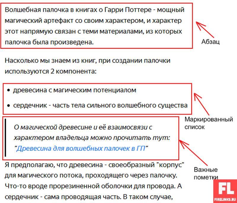 Оформление статей Яндекс Дзен