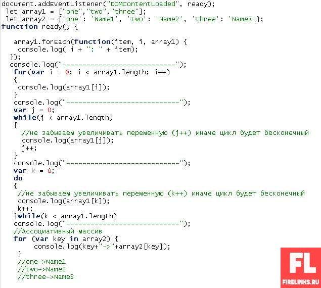Циклы в программировании