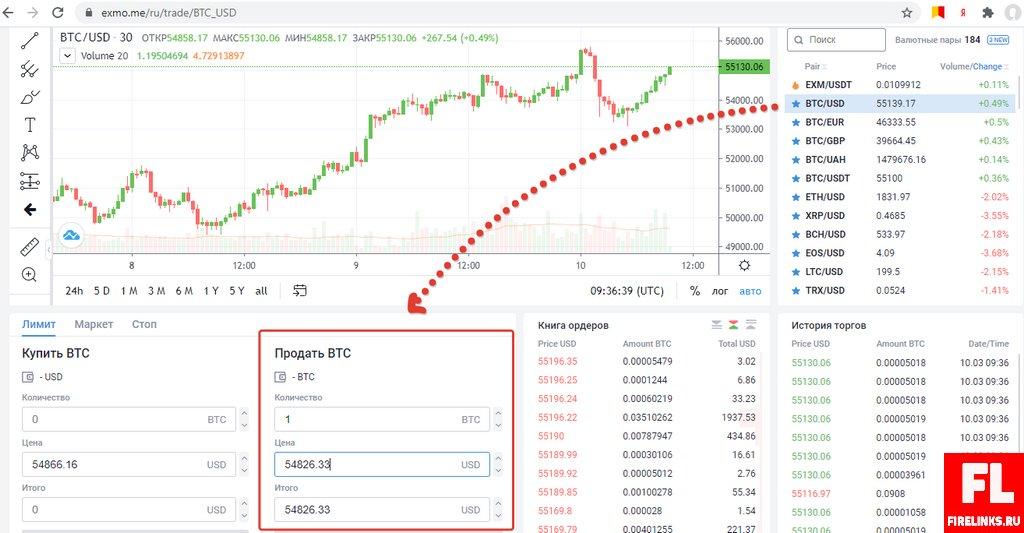 EXMO биржа